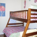 Bunk room includes a bunk bed with a twin on bottom and a full on top - Palazzo 106