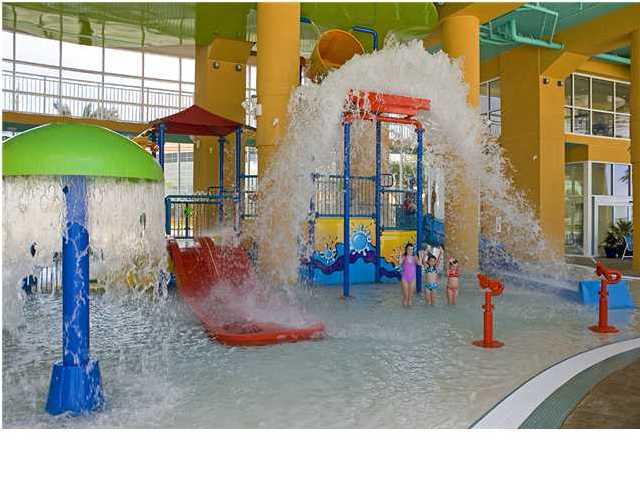 Kids Love The Water Play Area With Slides And Splash Bucket